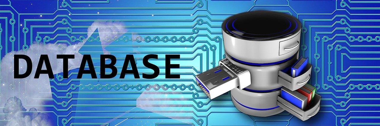 database, blue, sql